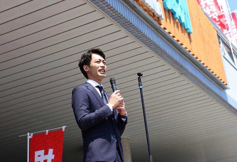 代表取締役安井挨拶