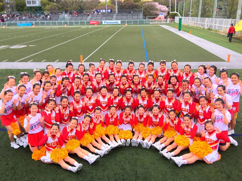 箕面自由学園高等学校 チアリーダー部「GOLDEN BEARS」