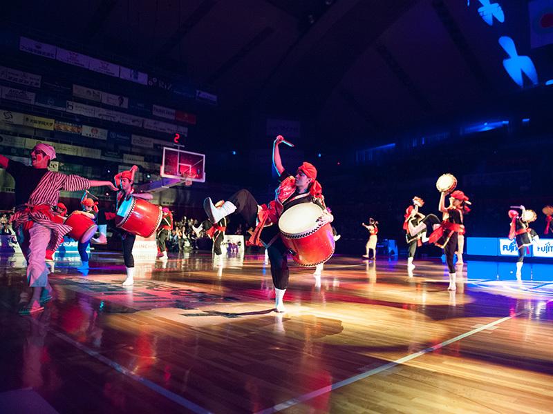 大阪教育大学「琉球鼓舞 いちゃりばちょーでーエイサー隊」