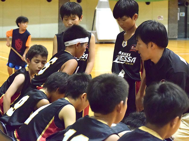 大阪エヴェッサU12練習