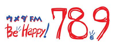 ウメダFM Be Happy! 789(78.9MHz)ロゴ